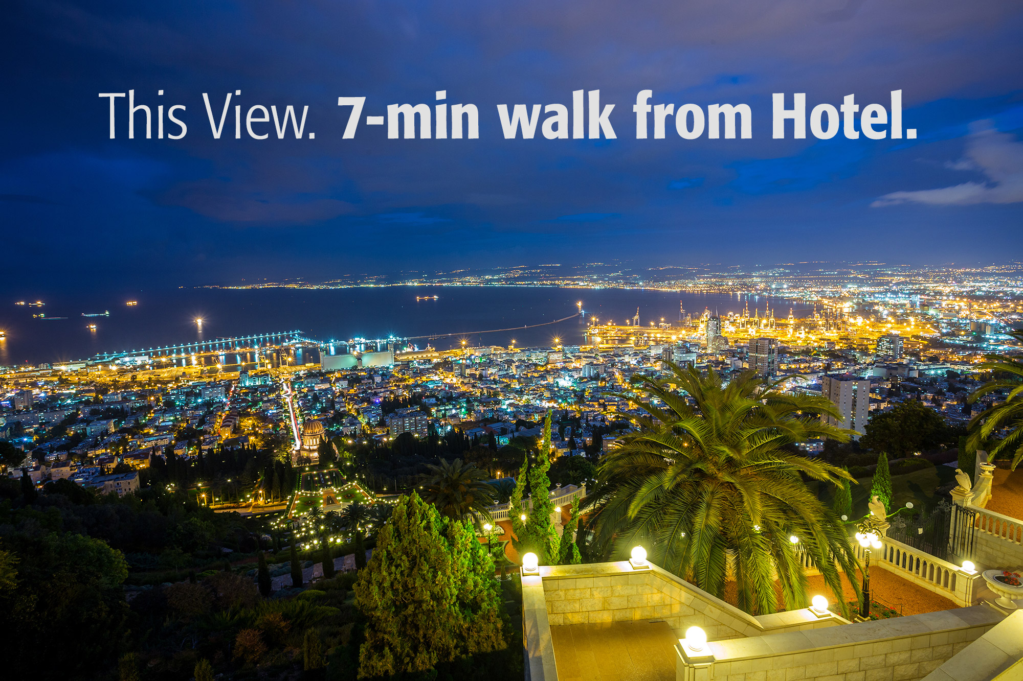 Centrally located Hotel in Haifa Mount Carmel Centrally located